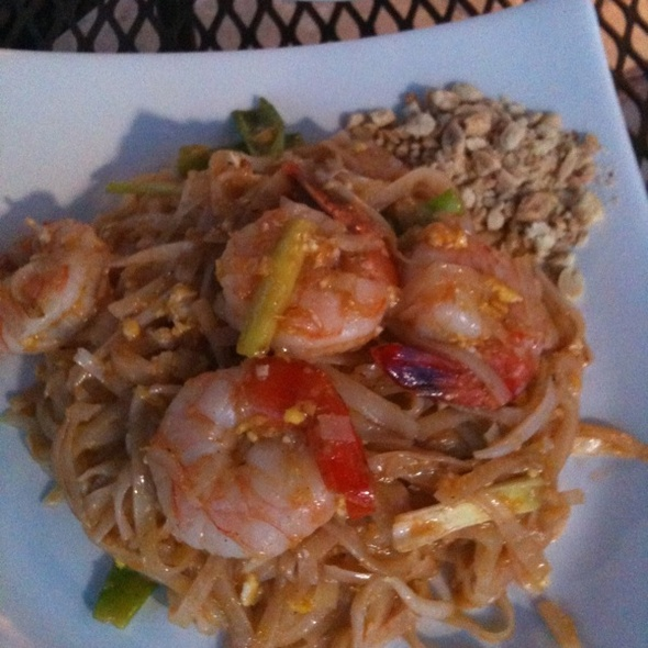 Pad Thai with Prawns - White Orchids Thai Cuisine, Center Valley, PA