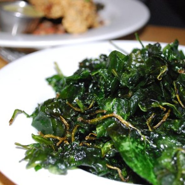Fried Spinach - Memphis Cafe, Costa Mesa, CA