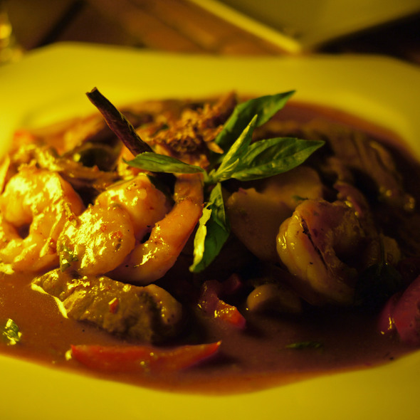 Stir Fried Beef and Shrimp - Thai - Cancún, Cancún, ROO