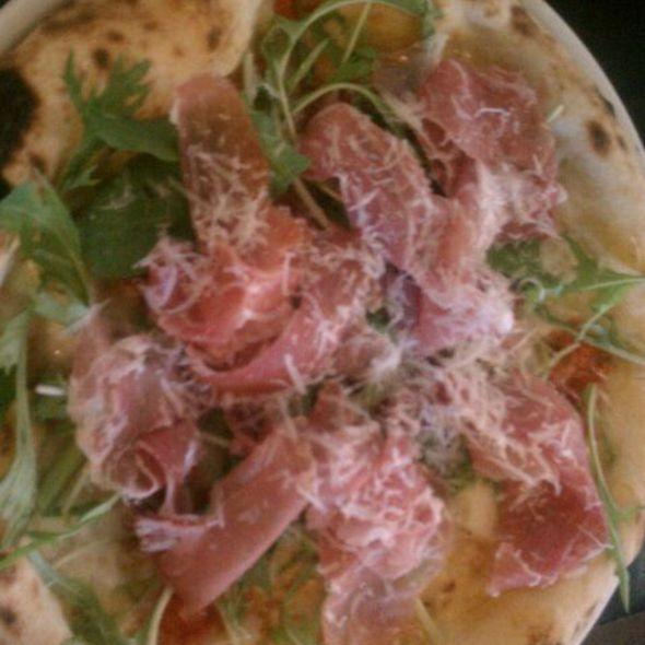 Prosciutto & Arugula Pizza - Basta, Boulder, CO