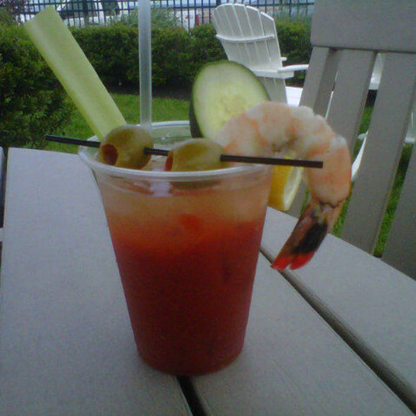 Bloody Mary - East Bay Grille, Plymouth, MA