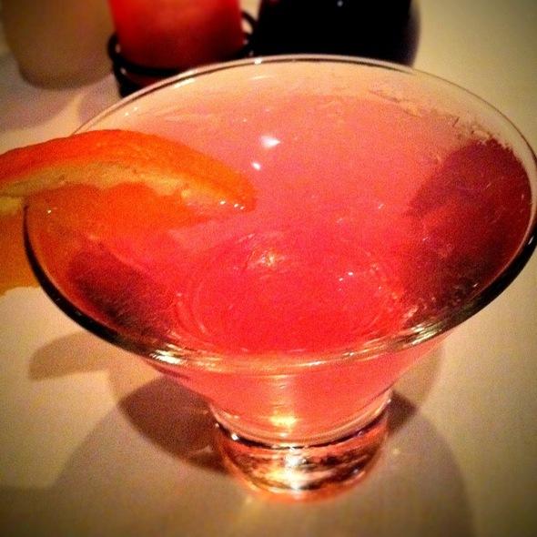 Ultimat Blood Orange Martini - NAAN Sushi, Plano, TX
