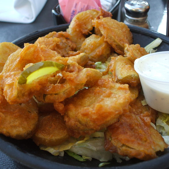 Deep Fried Pickles - Pier Cafe, San Diego, CA