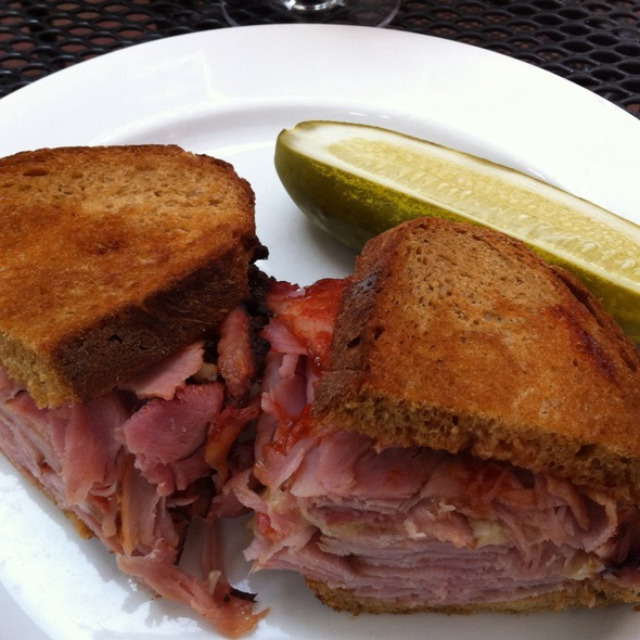 Ham And Cheddar Sandwich - Henrietta's Table, Cambridge, MA
