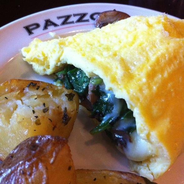 Omelette - Pazzo Ristorante, Portland, OR