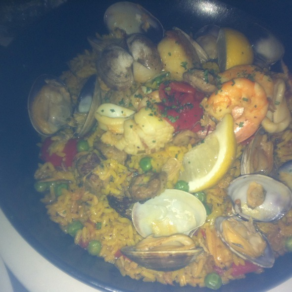 Seafood Paella - Bistro Casanova, Kahului, HI