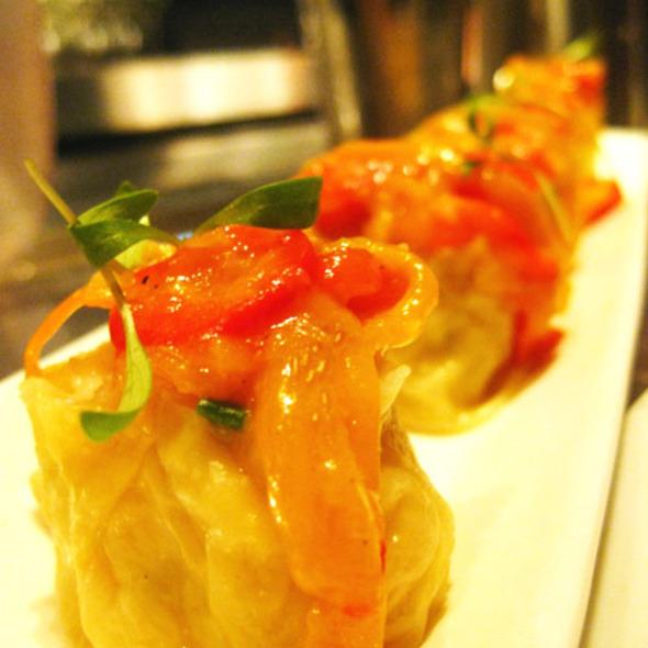 Jade Shrimp Dumplings - Buddakan NY, New York, NY
