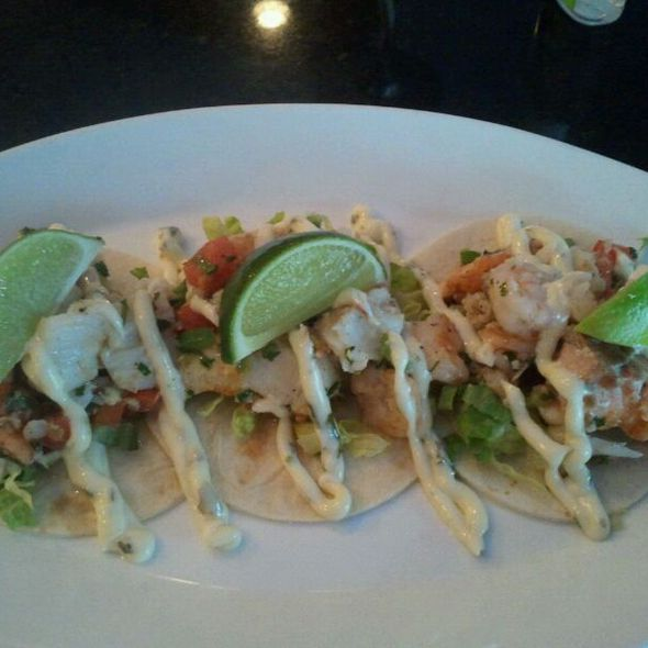 Seafood Tacos - 14K Restaurant & Lounge - The Hamilton DC, Washington, DC