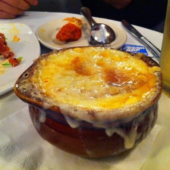 French Onion Soup - Butterfield 8 Restaurant & Lounge - NYC, New York, NY
