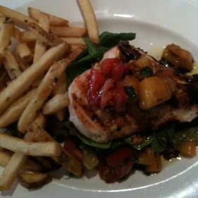 Open-Faced Chicken With Tomato And Arugula - The Capital Grille - Minneapolis, Minneapolis, MN