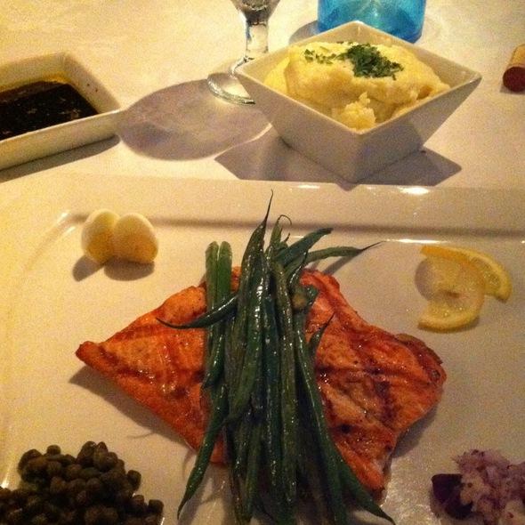 Sockeye Salmon - SeaBlue Restaurant & Wine Bar, North Myrtle Beach, SC