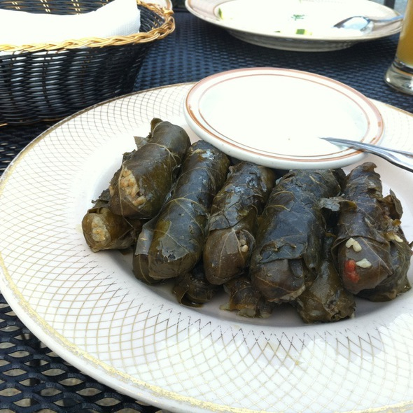 Stuffed Grape Leaves - Mama Ayesha's, Washington, DC