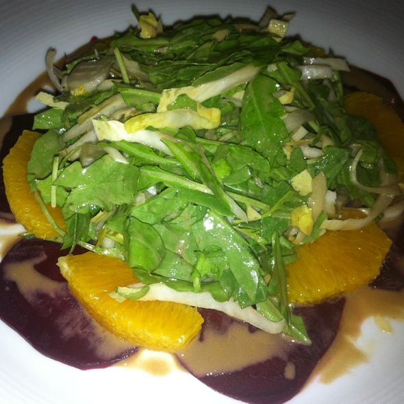 Beet Carpaccio With Orange And Arugala  - Lusardi's Restaurant, New York, NY