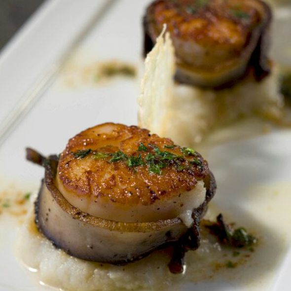 Bacon Wrapped Sea Scallops - Stellar - Greenville, Greenville, SC