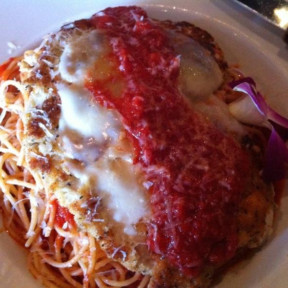 Chicken Parmigiana - Iozzo's Garden of Italy, Indianapolis, IN