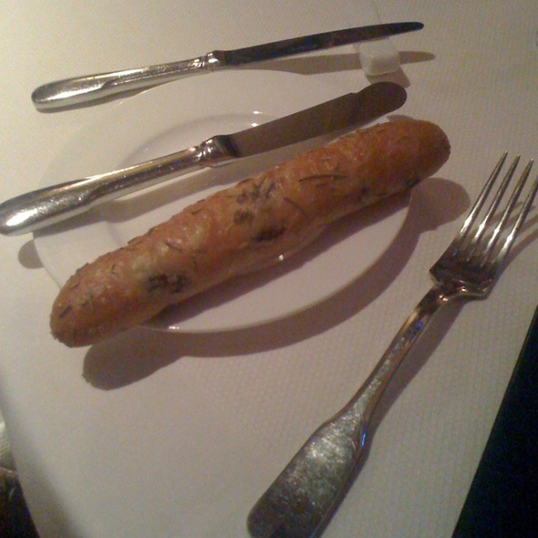 Mini Olive Rosemary Baguette - COAST by Jennifer Backman at Ocean House, Westerly, RI