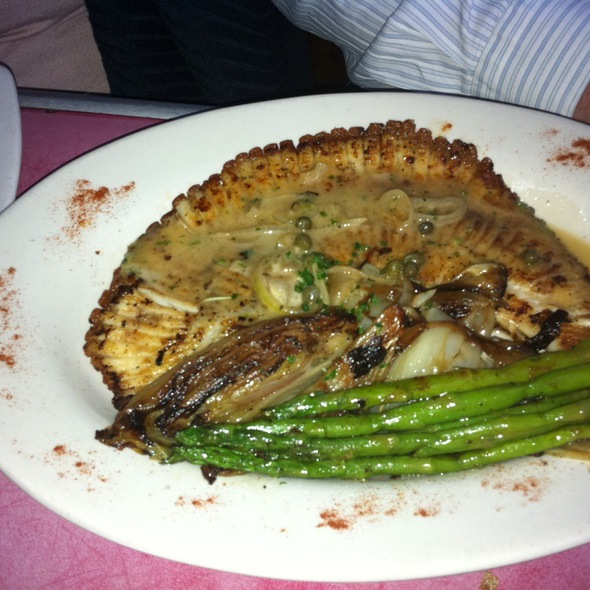 Skate With Asparagus - Fada Bistro, Brooklyn, NY