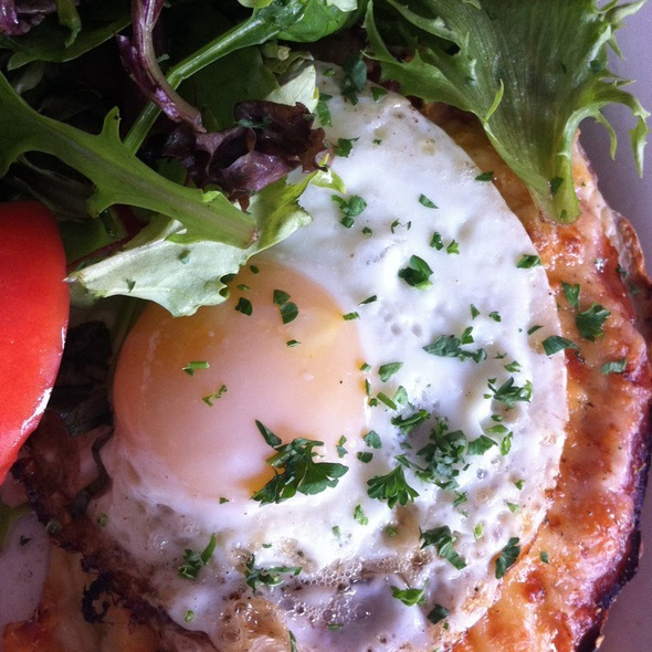 Croque Madame - Petite Abeille - 20th Street, New York, NY
