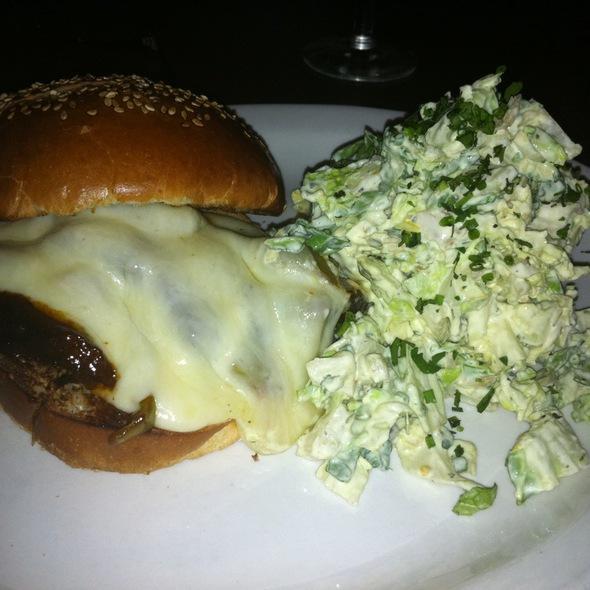 Beef Short Rib Sandwich With Slaw - Fire & Oak - Jersey City, Jersey City, NJ
