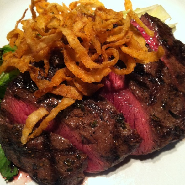 Angus Beef Flat Iron Steak - Cure Bar & Bistro, Washington, DC