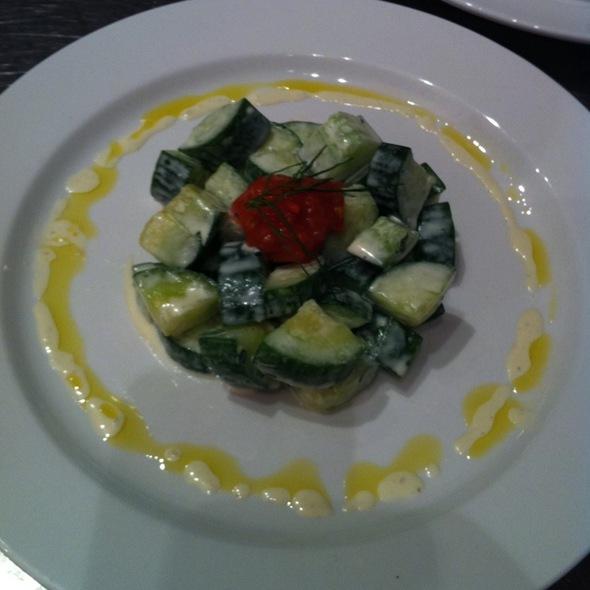 Cucumber Salad - Petite Jacqueline, Portland, ME