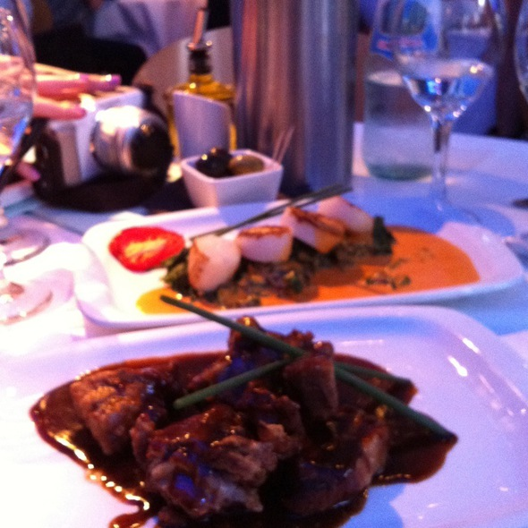 Scallopa And Bbq Spare Ribs - San Carlo - Leicester, Leicester, Leicestershire