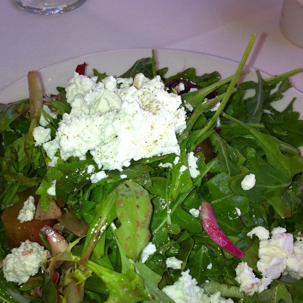 Beet and Goat Cheese Salad - Sanderlings - Seascape Resort, Aptos, CA