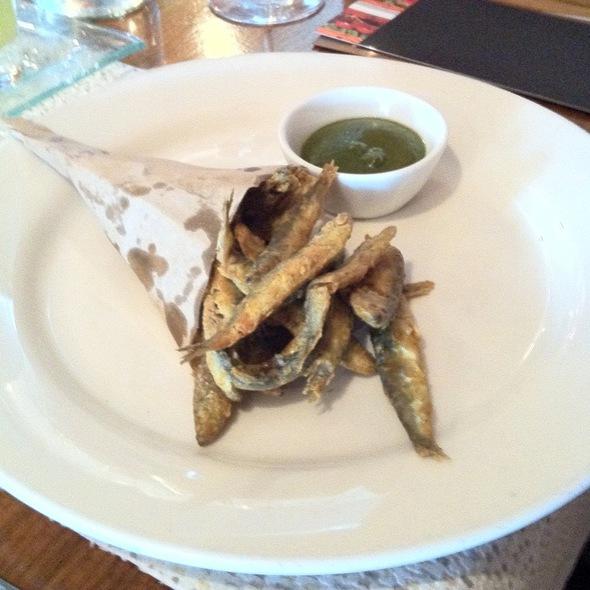 Crispy Fried White Bait - Babur, London