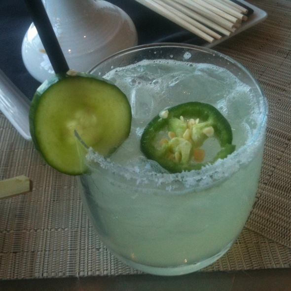 Cool & Spicy Margarita - Five Sixty by Wolfgang Puck, Dallas, TX