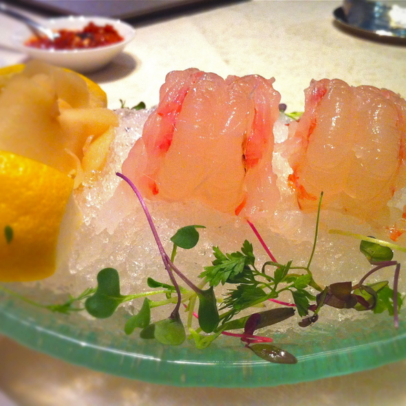 botan ebi sashimi - Blossom - Aria, Las Vegas, NV