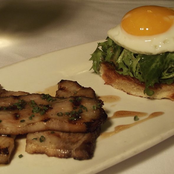Double Cut Bacon & Egg - The Grillroom, Chicago, IL