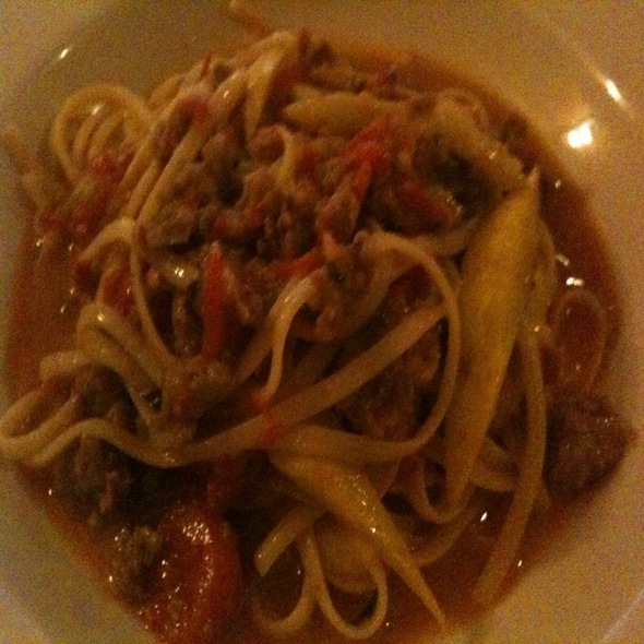 Linguine Fa Diola - Angus' Cafe Bistro, New York, NY