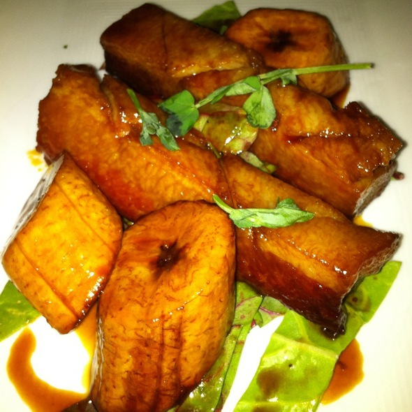 Plantains And Pork Belly Buns - Reina, Frederick, MD