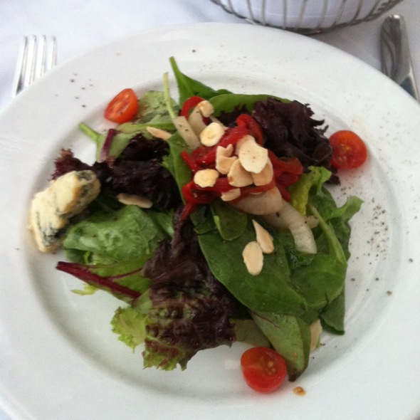 garden salad - Peter Shields Inn, Cape May, NJ