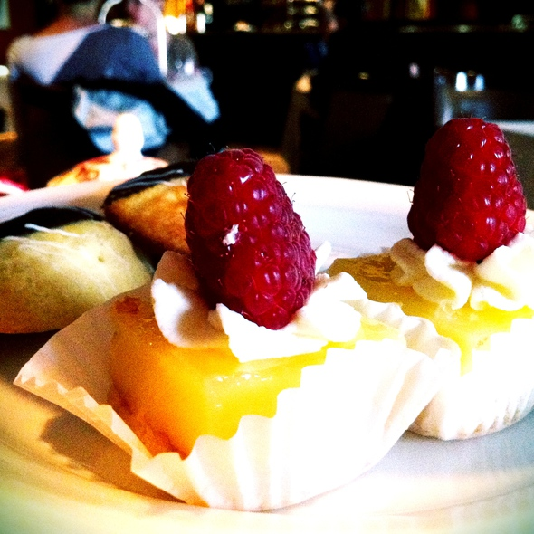 lemon financiers - Library Bar - Fairmont Royal York, Toronto, ON