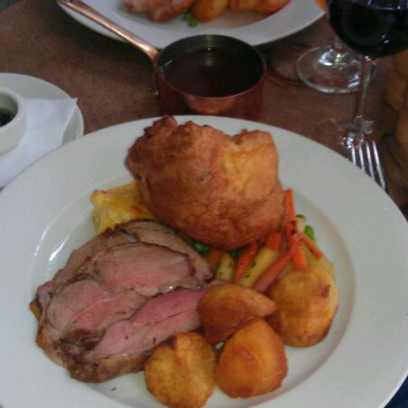 Roast Lamb - The Thomas Cubitt, London