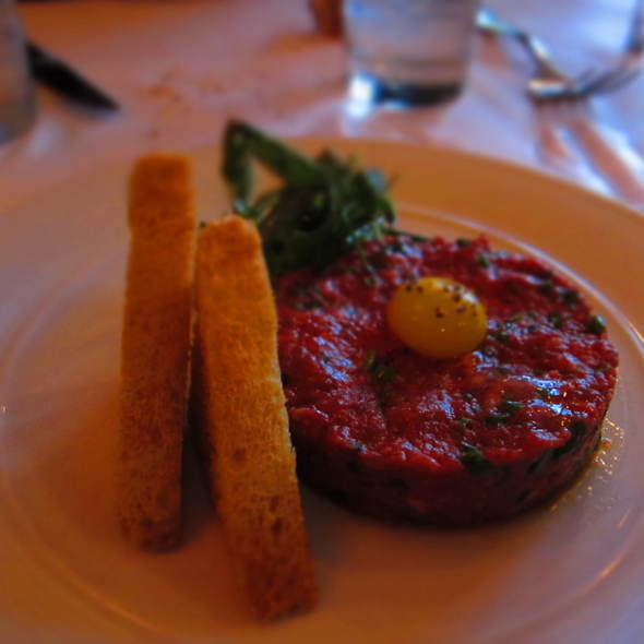 Steak Tartare With Quail Egg - Bistro Campagne, Chicago, IL