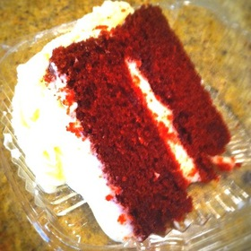 Red Velvet Cake - Bonnie Ruth's Neighborhood Bistro, Frisco, TX