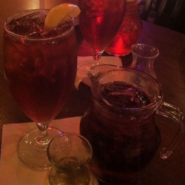 Ice Tea Wirh Simple Syrup - BJ's Steak & Rib House - Selinsgrove, Selinsgrove, PA