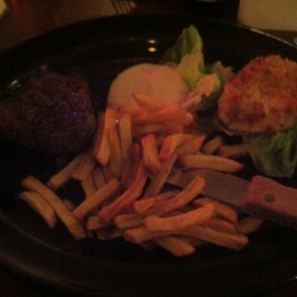 Chicago Steak And Crab Cakes - BJ's Steak & Rib House - Selinsgrove, Selinsgrove, PA