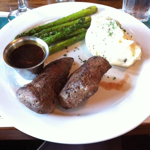 Pan Seared Elk - Buckhorn Steakhouse, Winters, CA