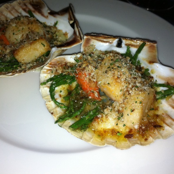 Scallops - Chiswell Street Dining Rooms, London