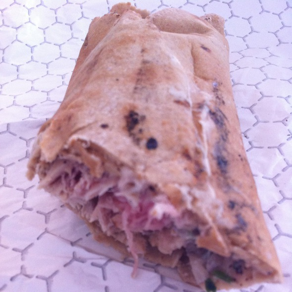 Tuna Fillet Wrap - Balade, New York, NY