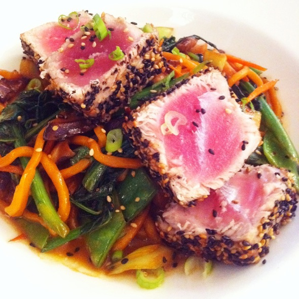Sesame Crusted Big Eye Tuna - Blue Fin - New York, New York, NY