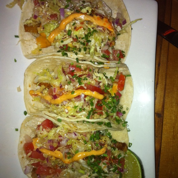 fish tacos - Papatzul, New York, NY