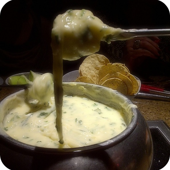 Spinach Artichoke Cheese Fondue with Bread - The Melting Pot - Larkspur, Larkspur, CA