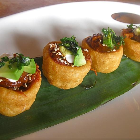 Sopecitos en Coloradito - Gabbi's Mexican Kitchen, Orange, CA