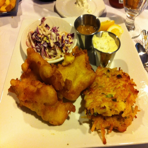 Fish Fry With Potato Pancakes - Allgauer's in the Park, Milwaukee, WI