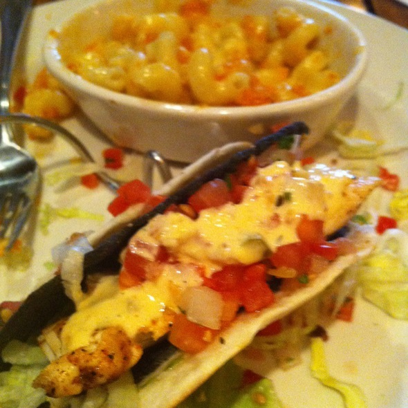 Cajun Fish Tacos - Rock Bottom Brewery Restaurant - Colorado Springs, Colorado Springs, CO