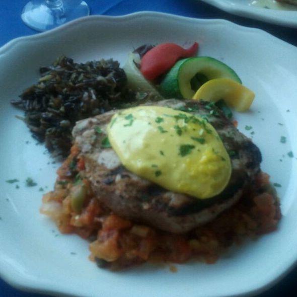 Yellowfin Tuna - The Carversville Inn, Carversville, PA